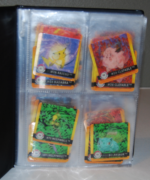 Pokemon action flipz folder