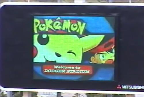 Dodger stadium pokemon event