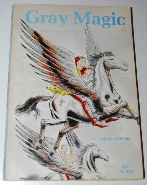 Gray magic scholastic book