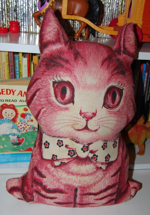 Vintage kitty plush toy