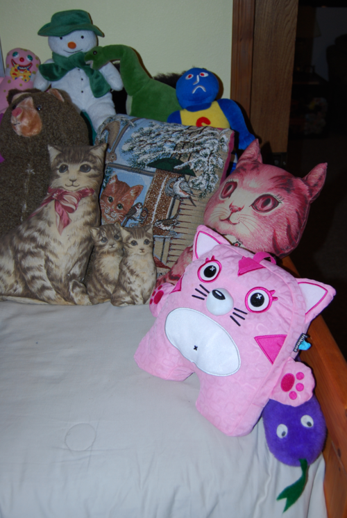 Toy room plushies