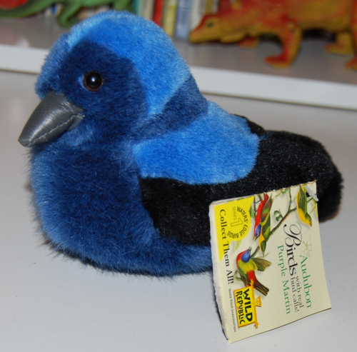 Audubon birds plush toy