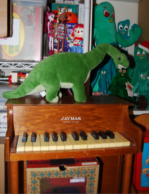 Dinosaur plush toy 1