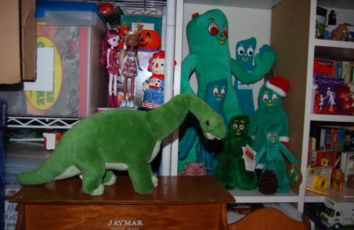 Dinosaur plush toy 2