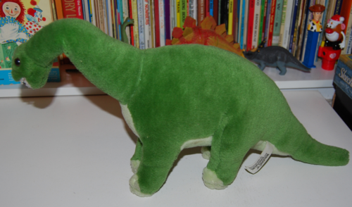 Dinosaur plush toy