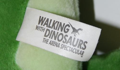 Dinosaur plush toy x