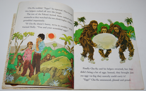 Land of the lost little golden book 4