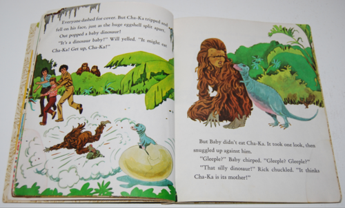 Land of the lost little golden book 5