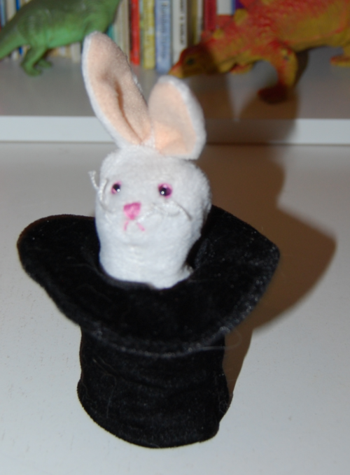 Folkmanis magic hat finger puppet x