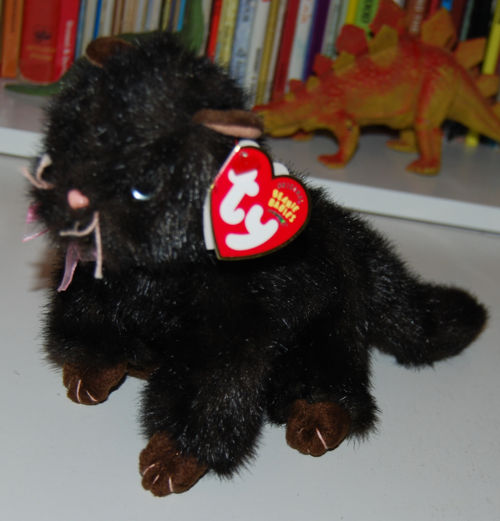 Ty beanie babies heiress cat