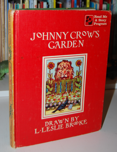 Andersen's fairy tales johnny crows garden