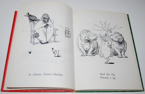Andersen's fairy tales johnny crows garden10