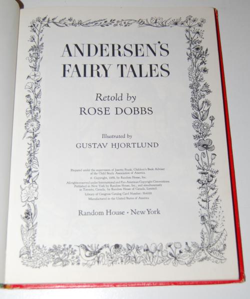 Andersen's fairy tales 1