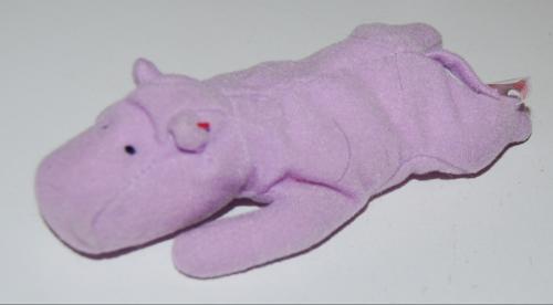 Ty teenie beanie baby hippo