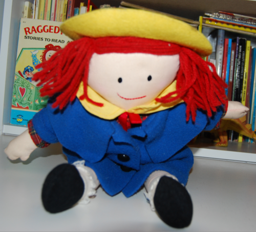 Madeline plush doll