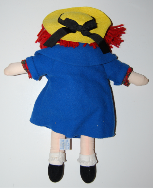 Madeline plush doll 2