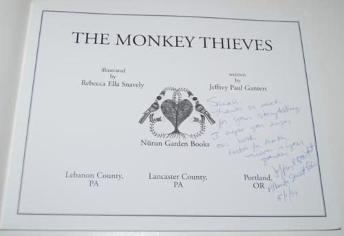 The monkey thieves 1