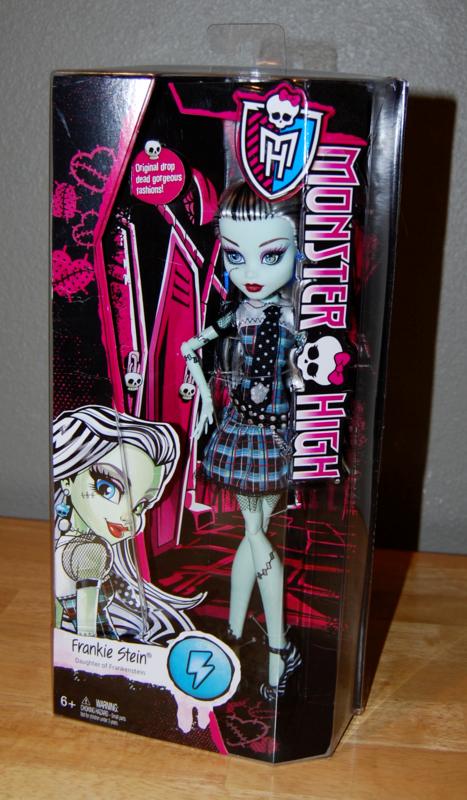 Monster high frankie stein doll x