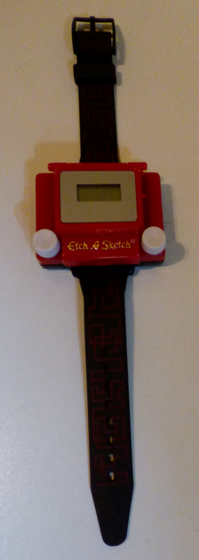 Etch a sketch watch
