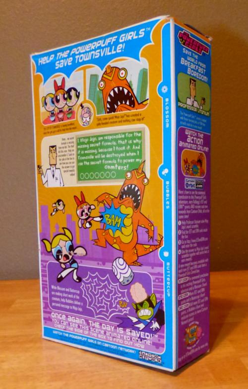 Kellogg's power puff girls cereal x