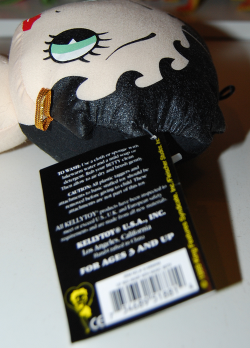 Betty boop talking plush doll 4