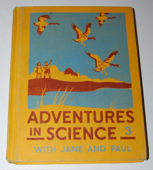 Adventures in science vintage book