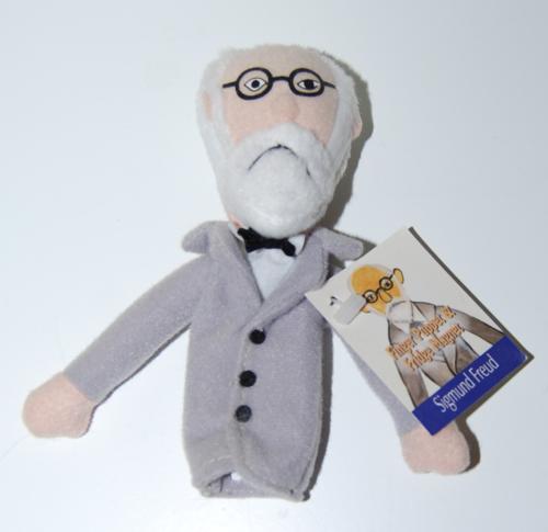 Freud finger puppet