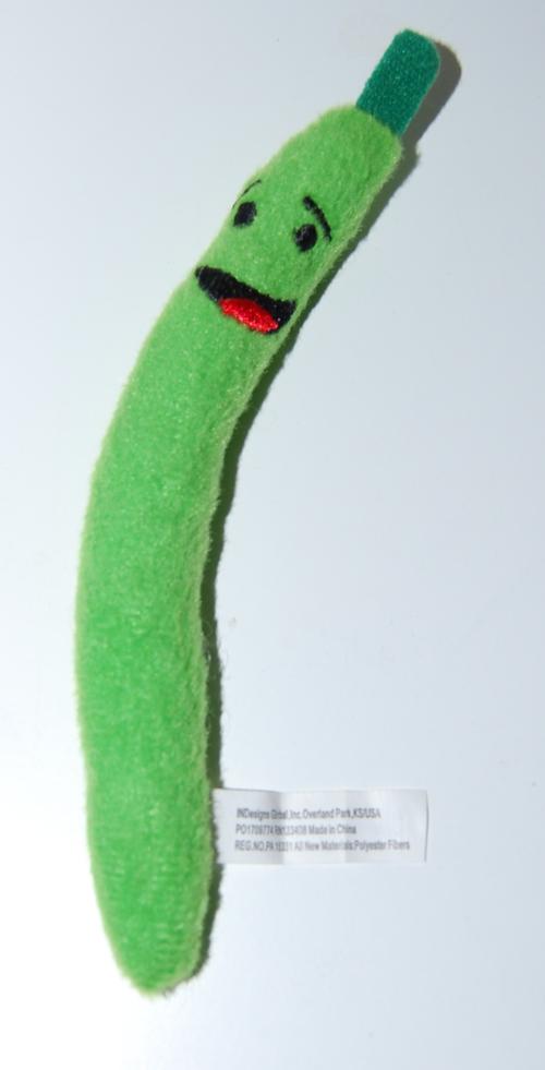 Mini veggies magnet plush toys x