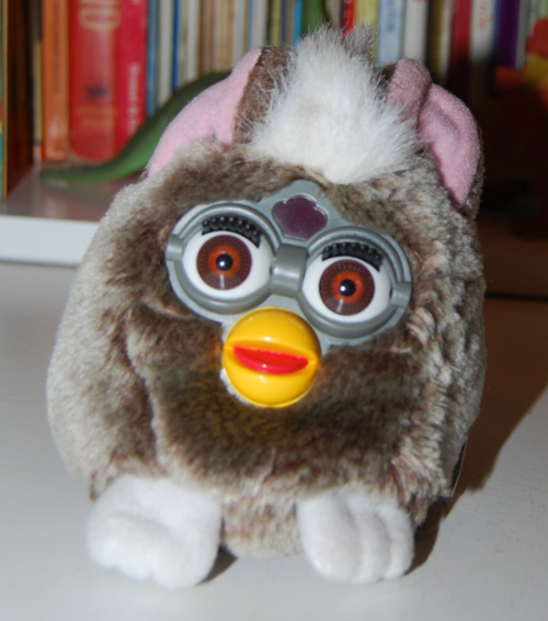 Furby plush toy