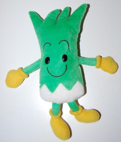 Celery plush toy