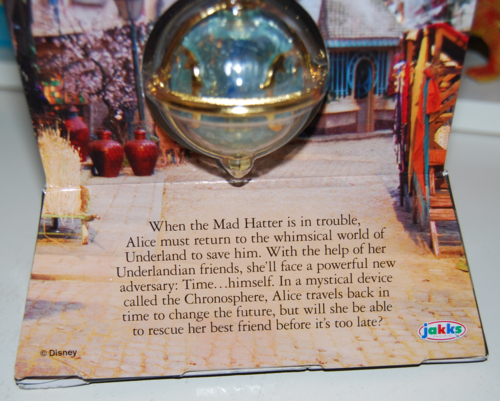 Alice through the looking glass chronosphere necklace