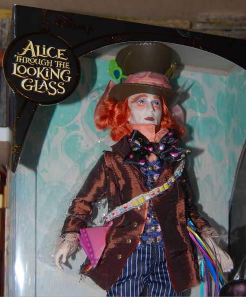 Alice through the looking glass doll mad hatter 2