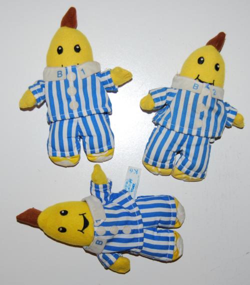 Bananas in pajamas plush toys