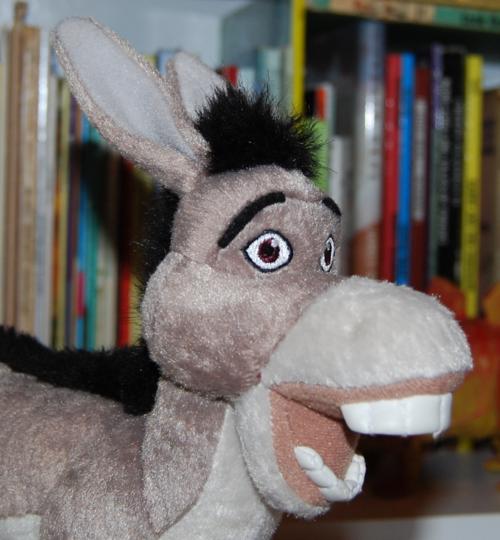 Shrek donkey plush toy