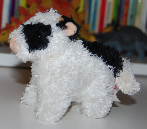 Gund mooing cow plush toy