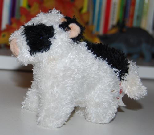 Gund mooing cow plush toy