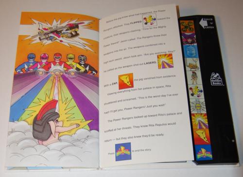 Power rangers golden sound story book 7