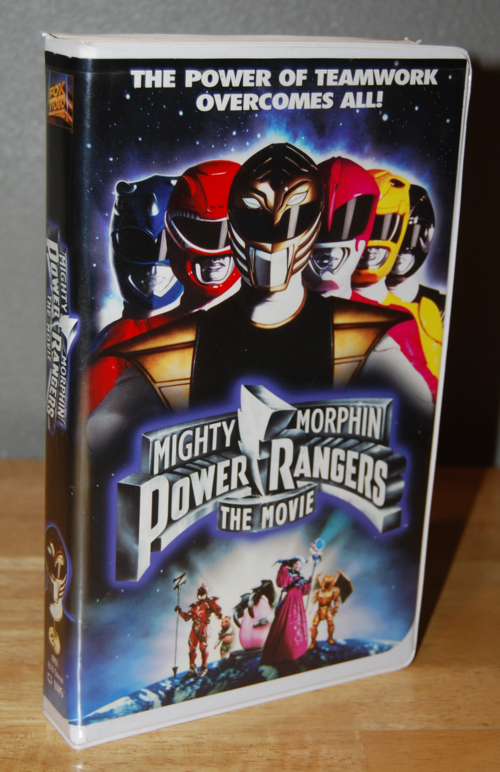 Mighty morphin power rangers the movie vhs