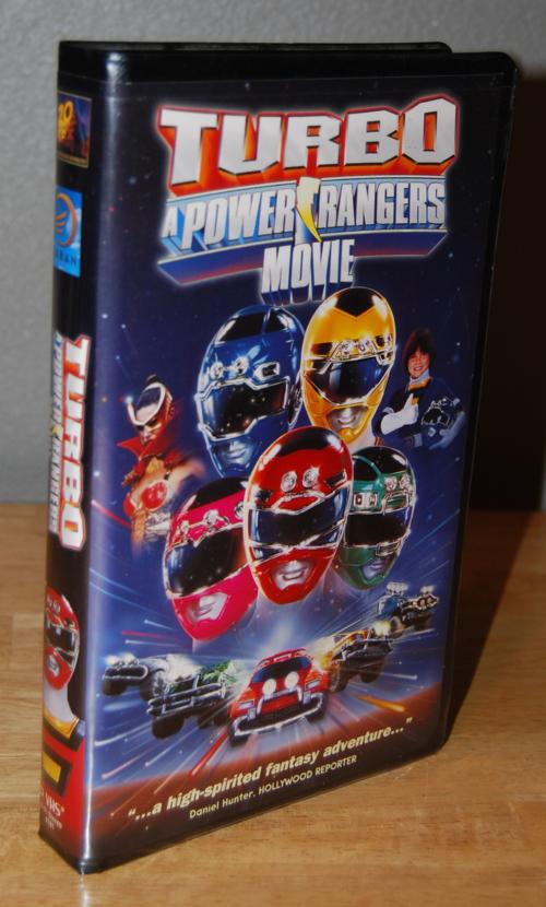 Power rangers turbo vhs