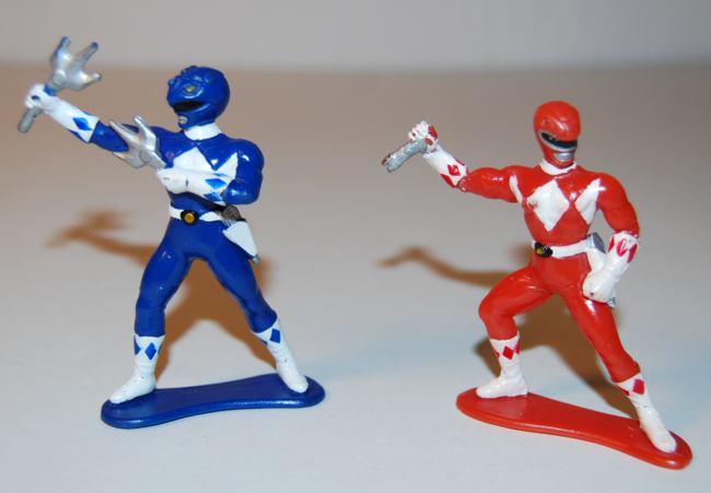 power ranger mini figures
