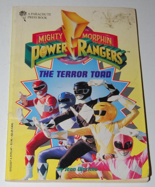 Power rangers book 3