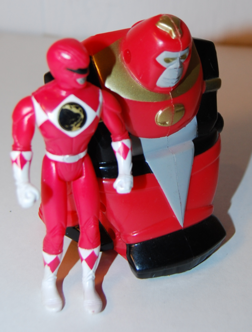 Power rangers vintage happy meal prizes 4 xx