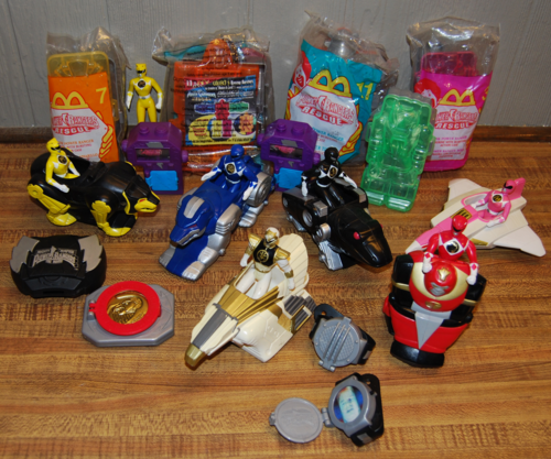 Power ranger happy meal toys