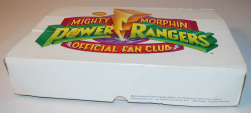 Might morphin power rangers official fan club kit