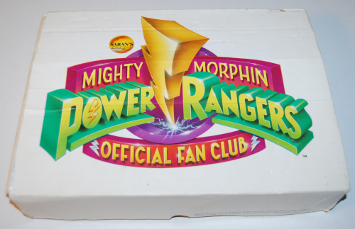 Mighty morphin power rangers official fan club box