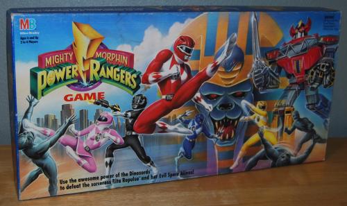 Milton bradley power rangers board game12