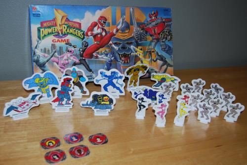 Milton bradley power rangers board game10