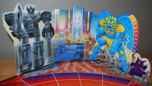 Milton bradley power rangers board game3