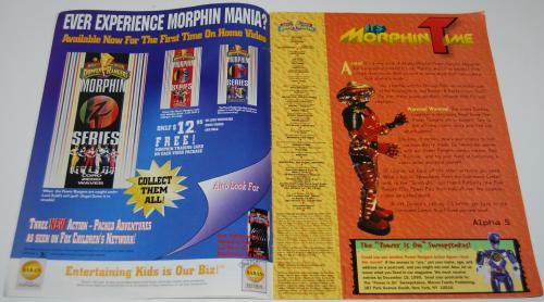 Morphin times magazine x1