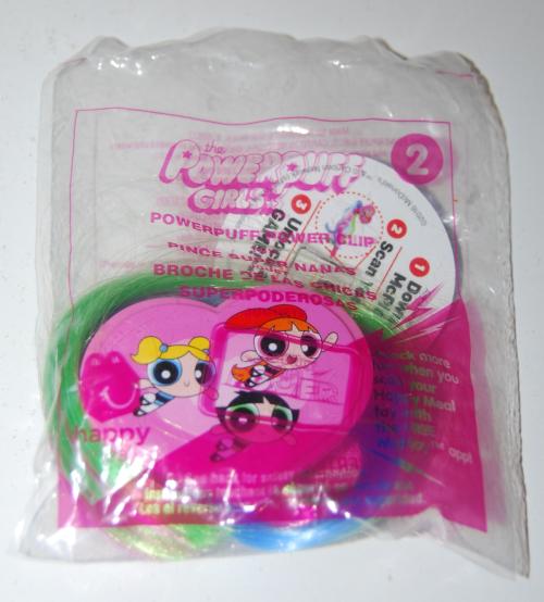 Powerpuff girls happy meal toys 2